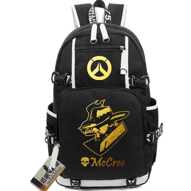 New Game OW School Backpack Bags Student Bookbag Anime Gamer Unisex Shoulder Laptop Backpacks Casual Travel Fashion Bags roblox game casual backpack for teenagers kids boys children student school bags travel shoulder bag unisex laptop bags