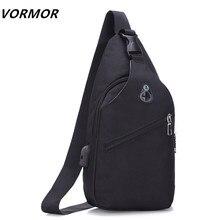 4729ad085 Bolsas de hombro carga USB Crossbody bolsos hombres antirrobo bolso escuela  verano corto viaje mensajeros bolsa 2018 nuevo llega.