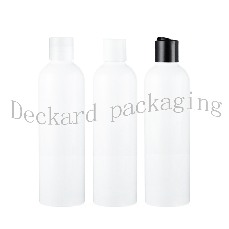 Cosmetics Container Cleaning The Oral Cavity. Beauty & Health Friendly 20pcs/lot 300ml White Empty Plastic Bottles With Disc Top Cap,shampoo Pet Bottle With Screw Lid
