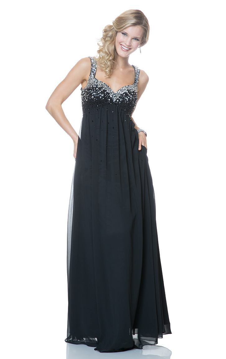 Popular maternity dresses for occasion buy cheap maternity dresses sparkly beaded chiffon long empire waist navy blue maternity evening dresses gowns for pregnant women special ombrellifo Gallery
