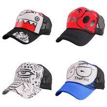 Kualitas terbaik hip hop baseball topi untuk anak gadis sepeda desain luar  olahraga jala topi snapback keren wanita pria trucker. 3ac0329a2f