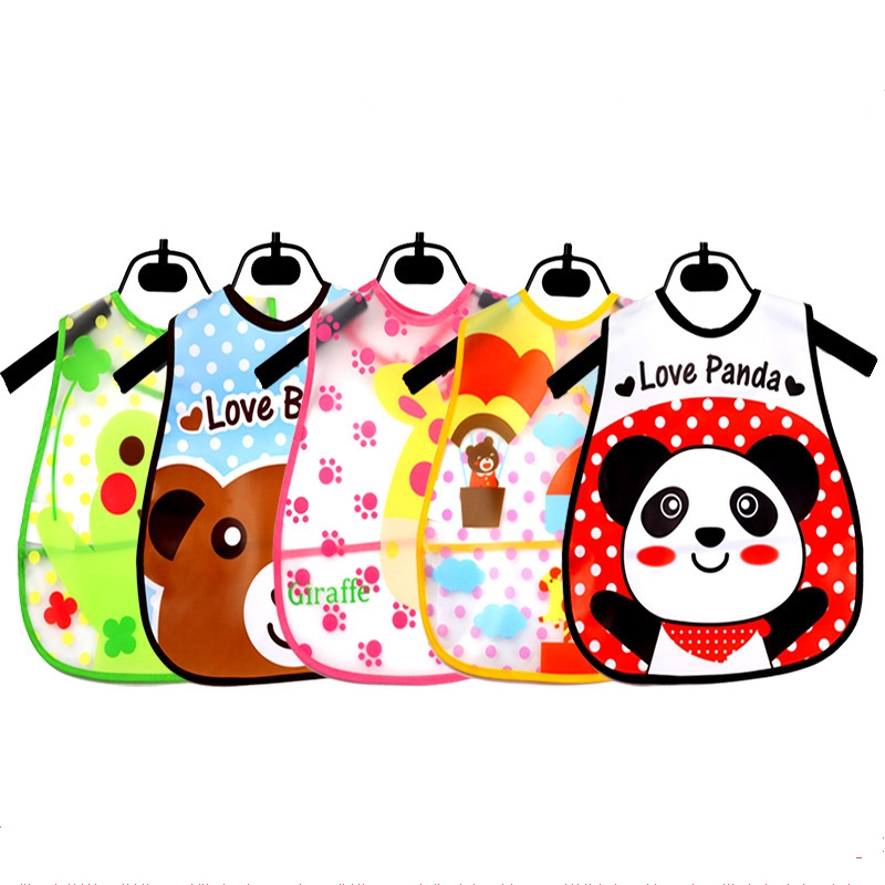Waterproof Baby Bibs,EVA Baby Feeding Baby Burp Clothes,2016 Fashion Baby Clothing Accessory For Boys Girls BI011