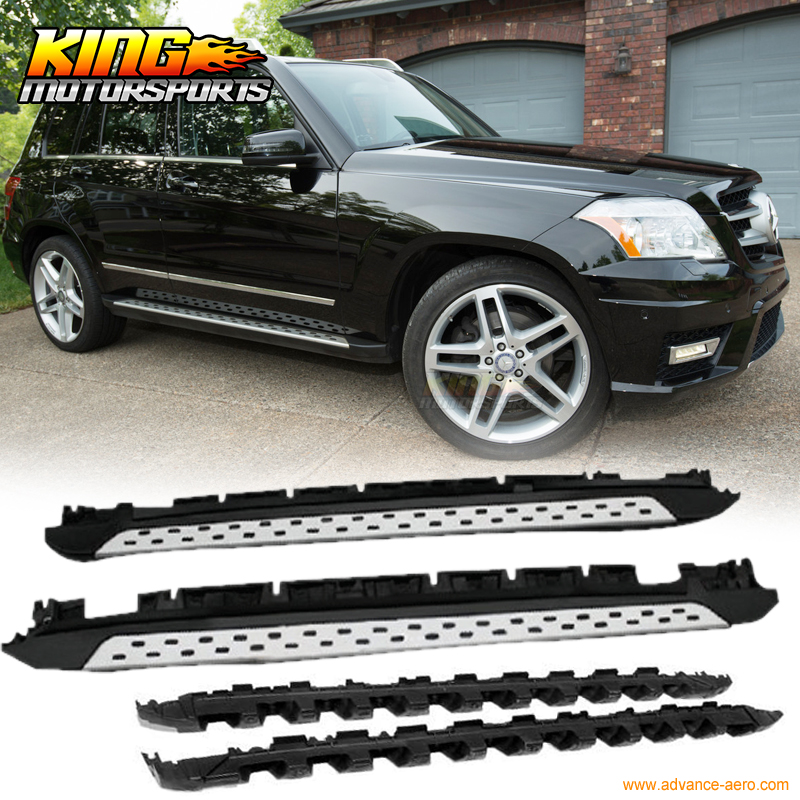 Fit for 2010 2015 Mercedes Benz X204 GLK350 OE Style Running Board
