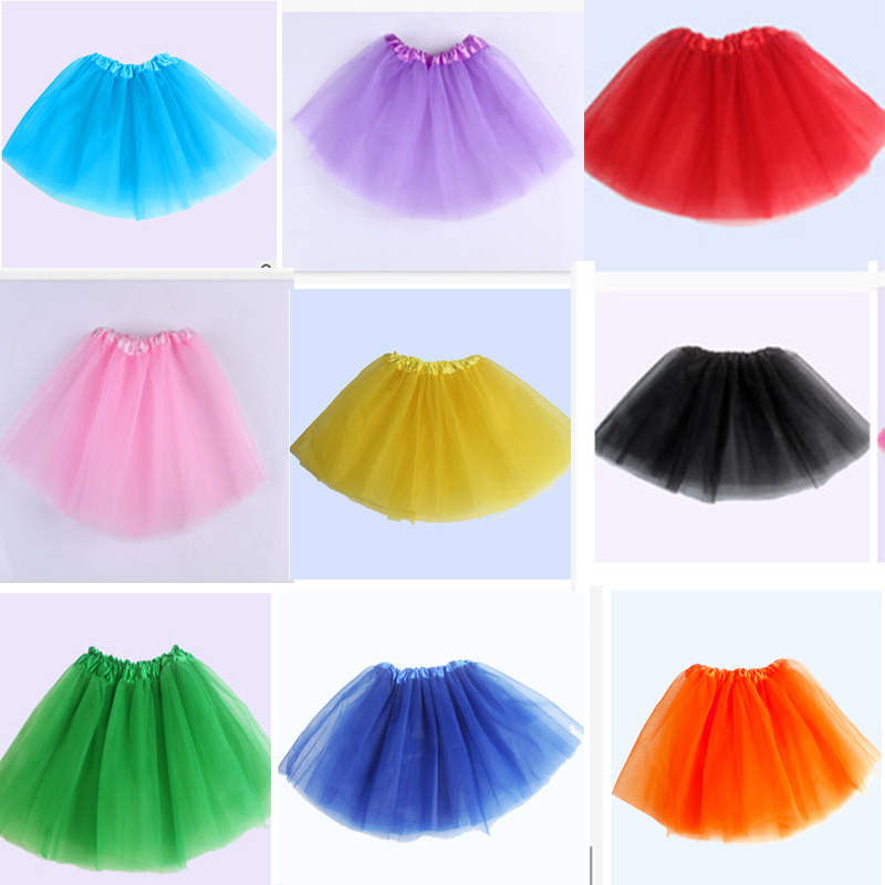 2018 Girls Ballet Tutu Skirt Practice Wear Baby Star Princess Net Yarn Mini Skirts Children'S Section Kids Ballet Clothes DN2031
