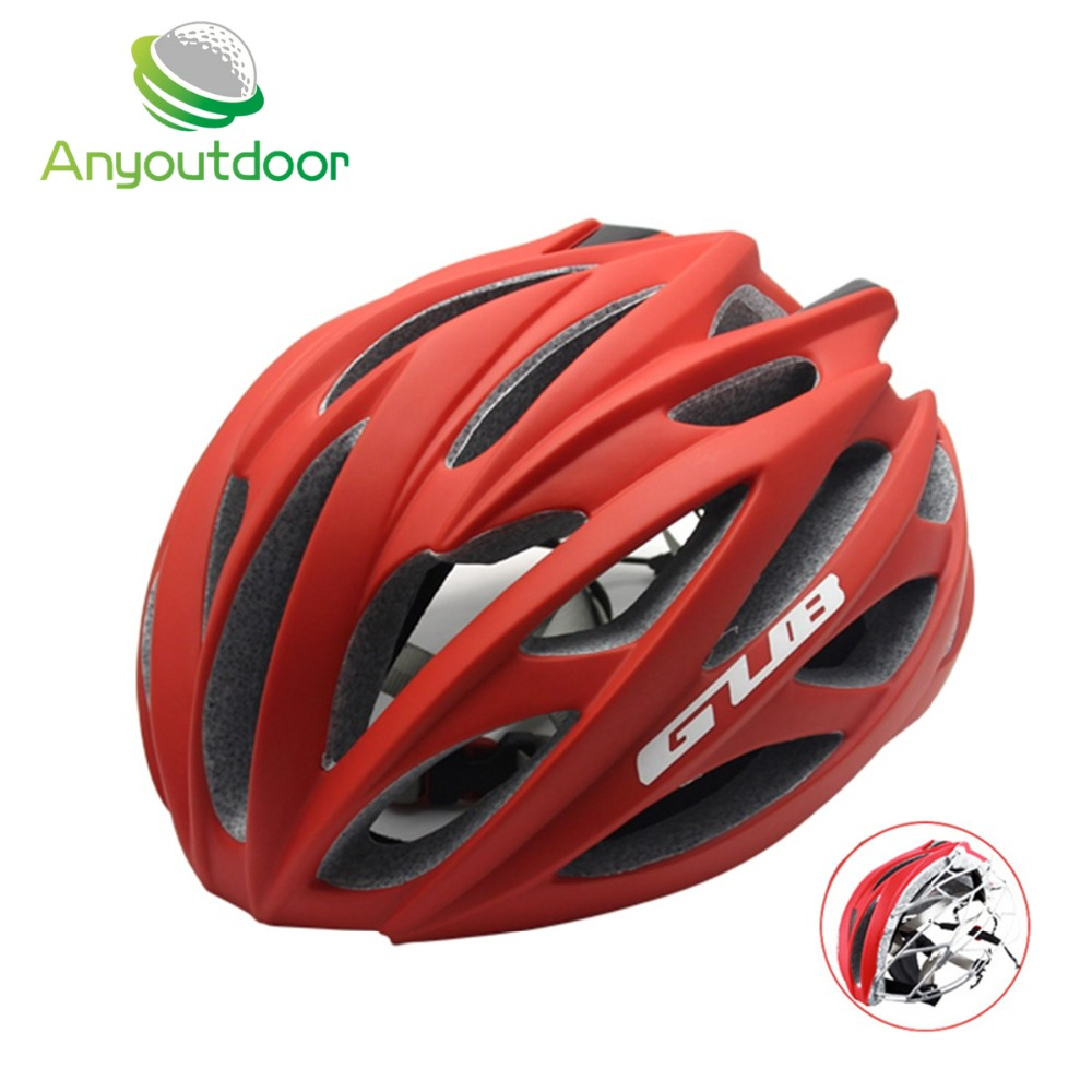 GUB Bicycle Helmet Ultralight Cycling Helmet Casco Ciclismo In-molded Road Mountain Bike MTB Helmets Cascos Bicicleta 58-62cm universal bike bicycle motorcycle helmet mount accessories