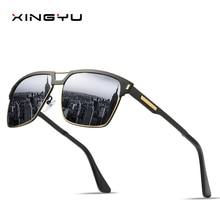 Mens Polarized Sunglasses classic style Driving mirror Fishing Spring hingeseries Metal sunglasses