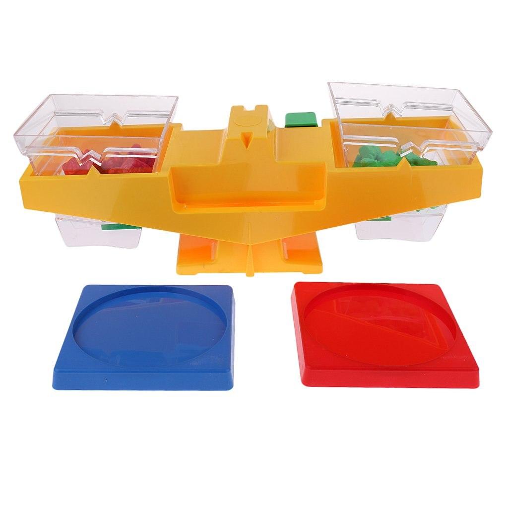 Balance Scale avec Ours Forme Poids Sensorielle Jeu Science Apprentissage jouets éducatifs cadeau d'anniversaire pour Enfants Enfants