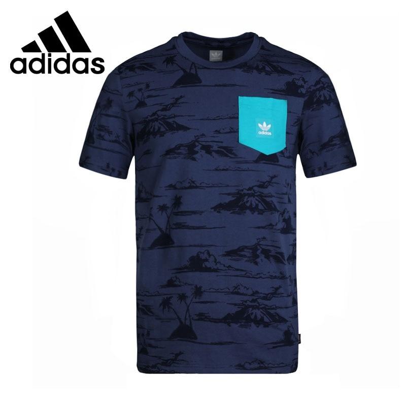 Original New Arrival 2018 Adidas Original HAVEN PKT TEE Men's T-shirts short sleeve Sportswear original new arrival 2018 adidas neo label w cs plts tee women s t shirts short sleeve sportswear