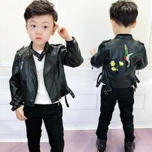 Children's clothing boy leather autumn  children leather jacket baby  kids jackets  Fashion  boys coats  jacket kids  ALI 339