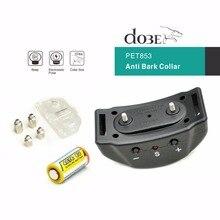 Mais novo automático anti casca colar som & choque & elétrico sem controle remoto necessário casca colar treinamento do cão sem casca colar