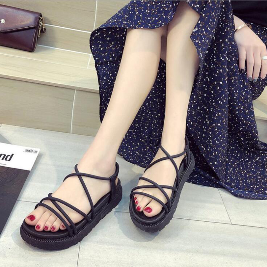 2019 MHYONS Gladiator Beach Flat Casual Sandals Fashion Summer Women Shoes Comfortable Female Ladies Sandals