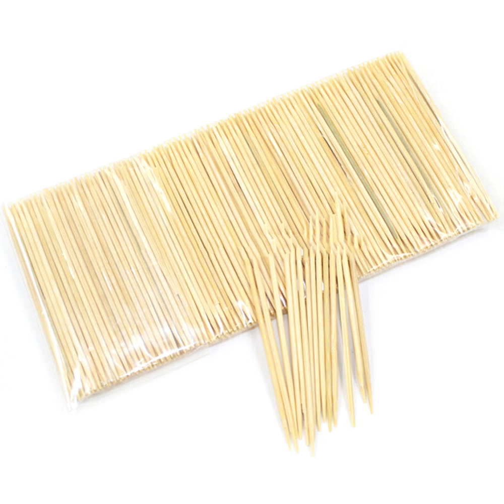 Travel-Supplies Toothpicks-Tools Bamboo Hotel Disposable Double-Head Restaurant Natural
