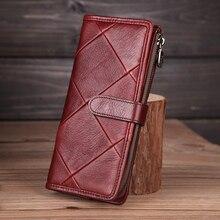 Cobbler Legend 2019 Genuine Leather Women Wallet Diamond Han