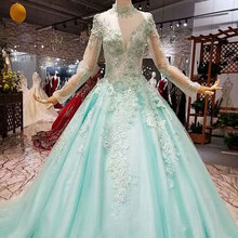 AIJINGYU Party Retro Sparkly Plus Size Gown Wedding Dresses