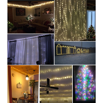 The Longest Waterproof Outdoor Home 30M 50 100M LED Fairy Street Lights Decoration Garlands Christmas Wedding New Year's Garland 2