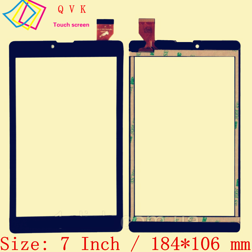 Black 7 Inch For DIGMA OPTIMA 7100R 3G TS7105MG Tablet Pc Capacitive Touch Screen Glass Digitizer Panel Free Shipping