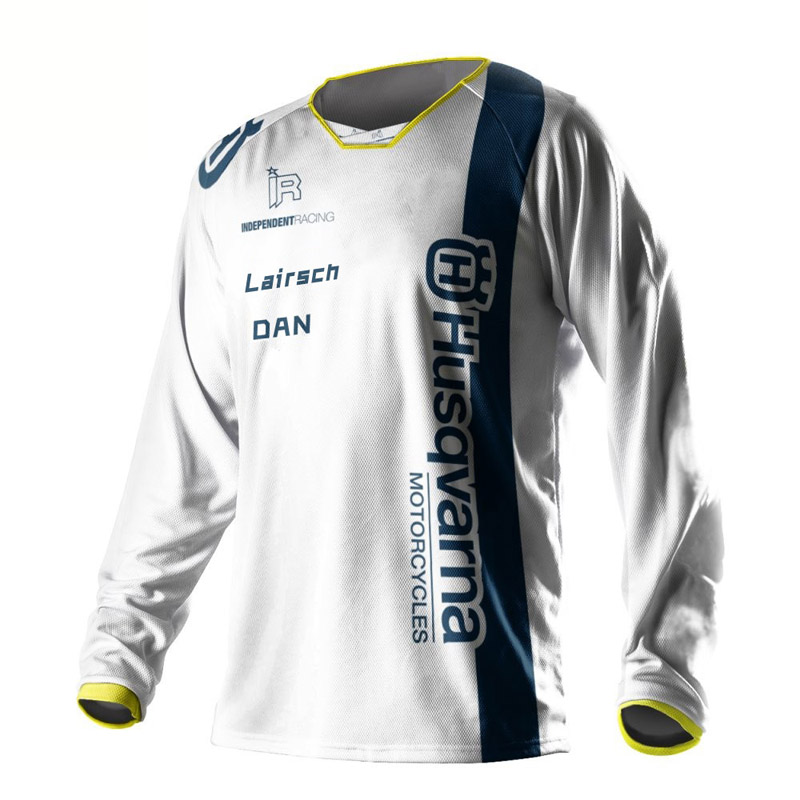 Husqvarna downhill jersey long sleeve motocross riding NEW 2019 men