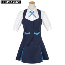 Girls dress kiznaiver takashiro chidori uniforme fiesta de disfraces cosplay escuela traje de mujer de primavera
