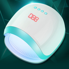 72W Nail Lamp 30s/60s/90s Timer LCD Display UV Led Lamp for Curing Gel Polish Led Manicure Lamp for Nail Art Nail Dryer стоимость