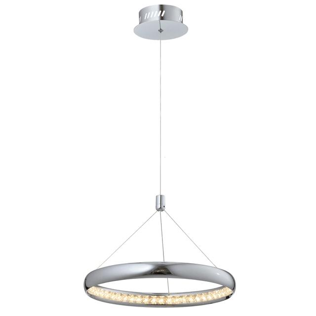 Youlaike Modern Crystal Chandelier For Dining Room Single Light Hanging LED Crystal Lamp Home Decoration Lustres De Cristal