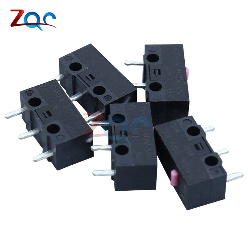 10pcs 12.8x5.8x6.5mm Mouse Microswitch Stable Pushbutton Micro Switch Switches 12.8*5.8*6.5mm : 91lifestyle