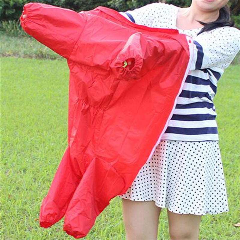 Red Blue Large Pet Dog Raincoat Clothes Rain Coat Clothes Hoody Waterproof Rain Lovely Golden Retriever Samo Dog Jackets