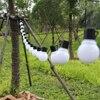 20 LED Outdoor Solar Lamps LED Globe ball String fairy light solar light christmas garland waterproof garden street decor Light promo