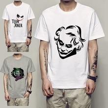 Batmans Dead Enemy DC Joker Cool design Summer Fashion Crew Short Sleeve T-Shirt Casual Mens Tee Plus Size