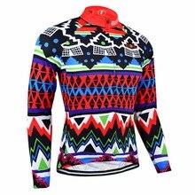 Bxio Winter Thermal Fleece Ciclismo Jersey de la Bici de Montaña Caliente Alopette Maillots de Manga Larga en Bicicleta Jersey Ciclismo ropa Hombre 027J