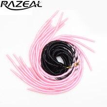 Razeal 20 ''20 волосы Virgin hair(комплект из 3 шт. искусственные локоны в стиле Crochet волос коса деграде синтетические волосы накладки косички
