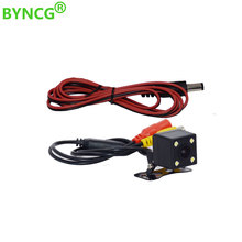 Auto Reverse Backup Car Rear View Camera HD CCD Waterproof 4 LED Night Vision Wide View Angle Parktronik Parking Universal