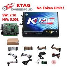 Горячая K TAG KTAG K-TAG V2.10 HW 5,001 ECU Инструмент для программирования мастер версия чип тюнинговый инструмент оборудование V5.001 KTAG 2,10