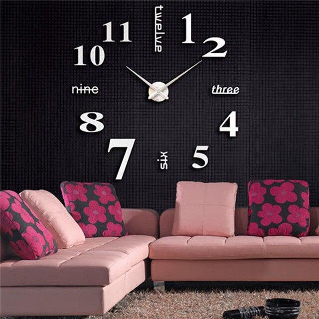 Aliexpress.com : Buy Acrylic Modern DIY Wall Clock 3D ...