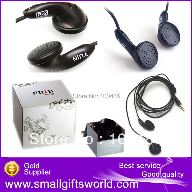 100% Genuine YUIN PK2 High Fidelity Quality Hifi Fever Professional Earphones  Free Shipping
