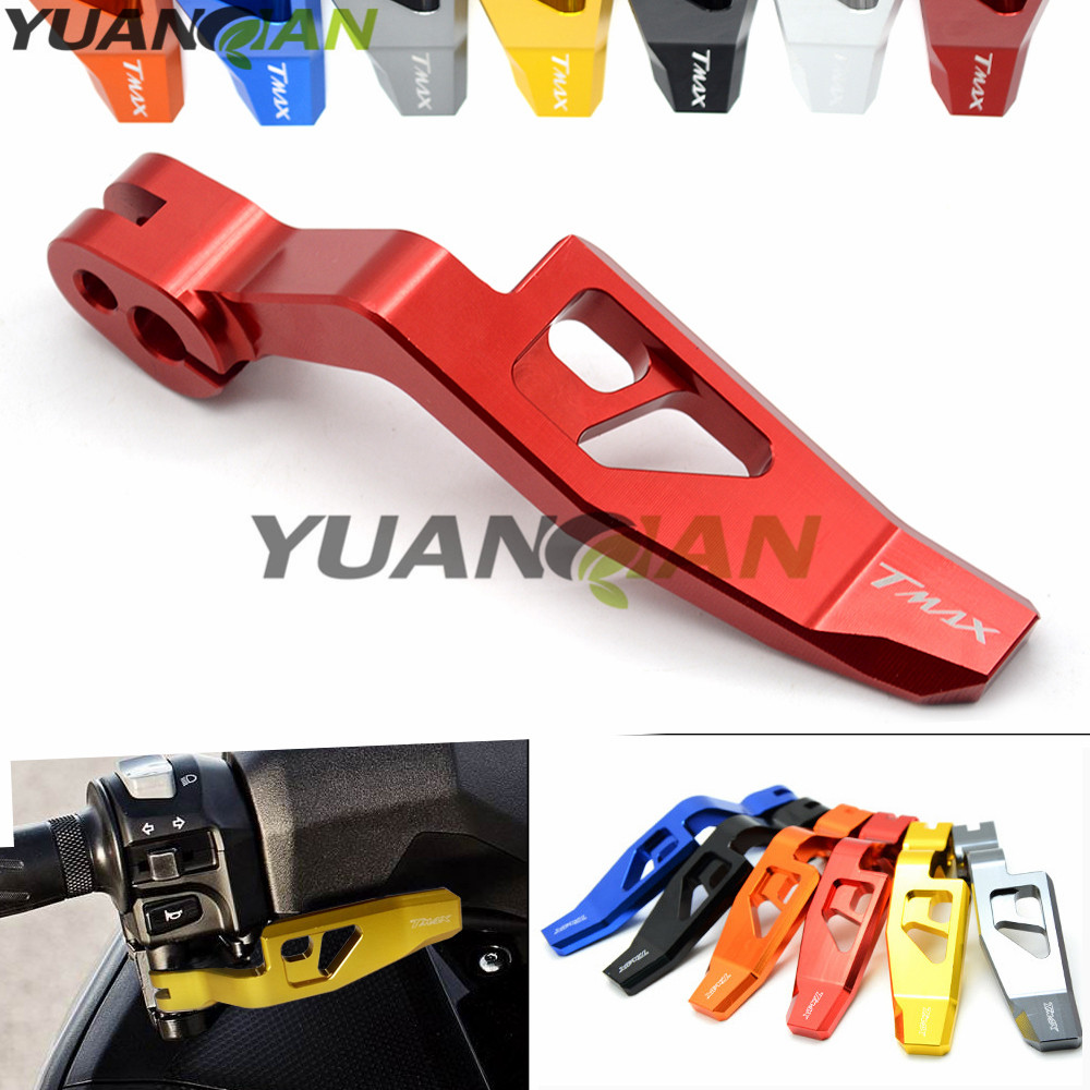 FOR T max T-MAX 500 T-MAX 530 CNC Aluminum Parking Brake Levers For YAMAHA TMAX 500 2008-2011 and TMAX 530 2012 2013 2014-2016 цены онлайн