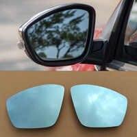 2 pz Nuovo Elettrico Riscaldato w/Segnale di Girata Specchio di Vista Laterale Blu Occhiali Per Citroen C3-XR