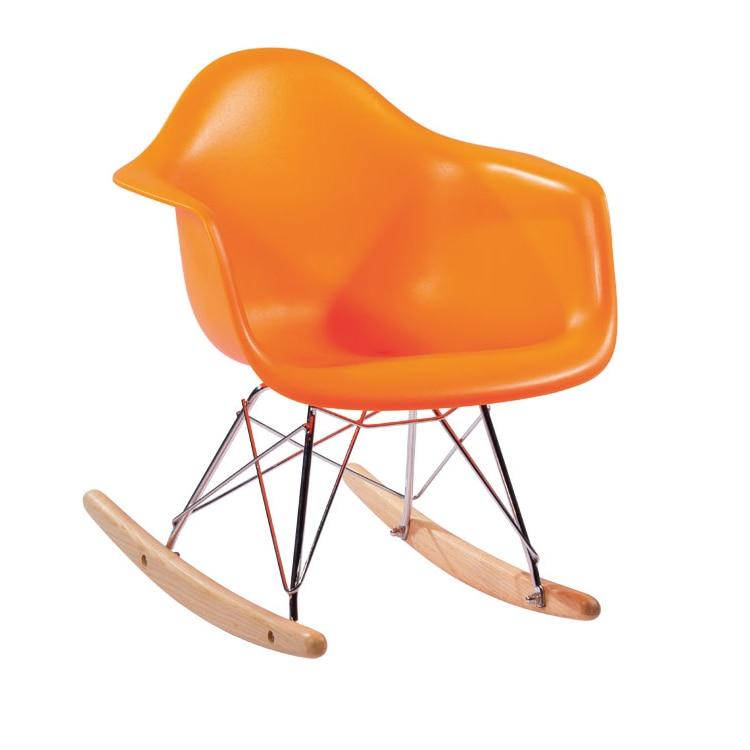 Plastic Kid Chairs Tolix Chair Yellow Modern Leisure Living Room Furniture Fashion Balcony Rocking Multi Color Optional