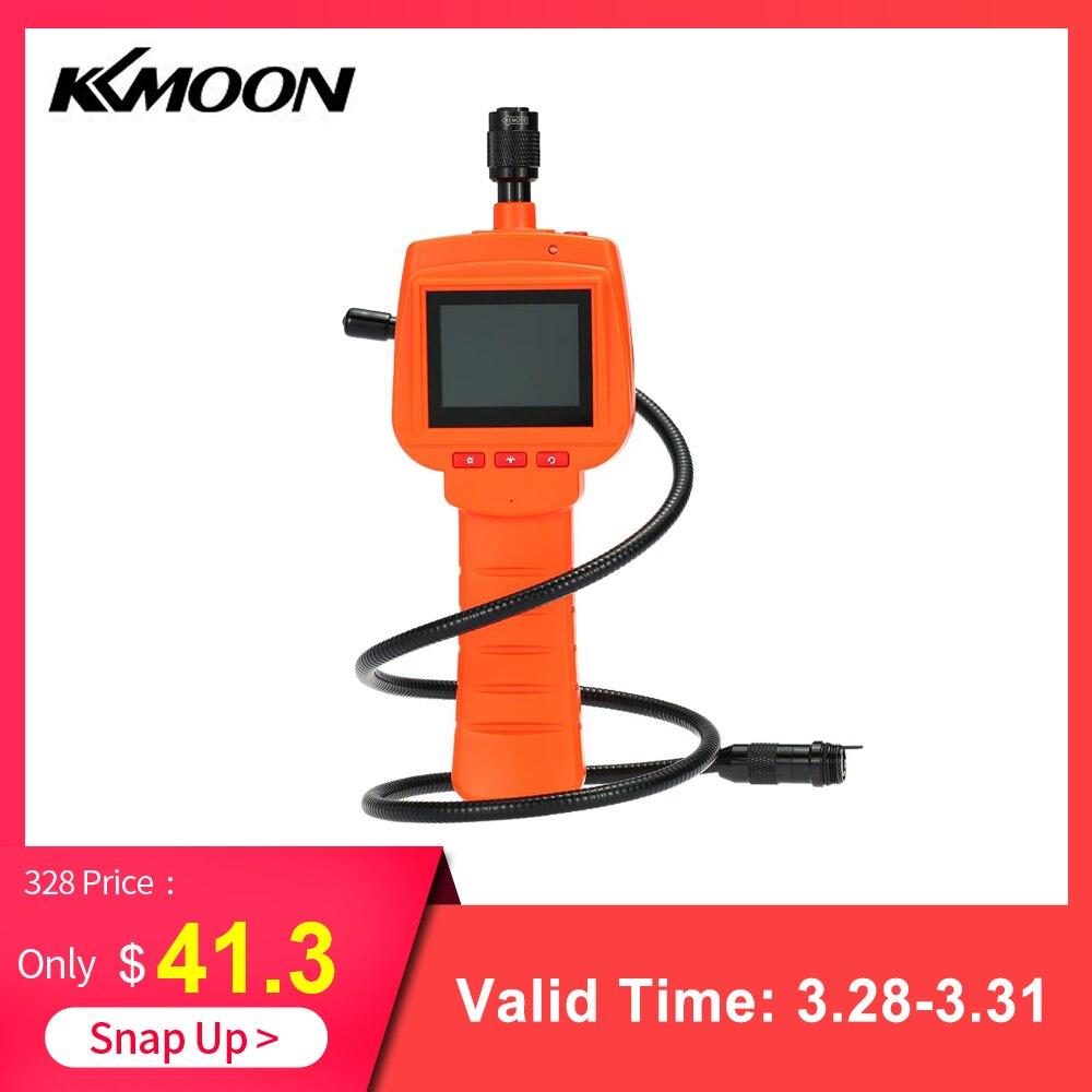 KKmoon Waterproof Endoscope Inspection Camera 3MP With 2 4 Screen DVR Video 9mm Diameter 1 Meters