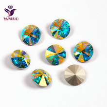 1122 Rivoli 6.8,10,12,14,16.18mm Crystal AB Fancy Stones for Jewelry Marking Jewellery Settings