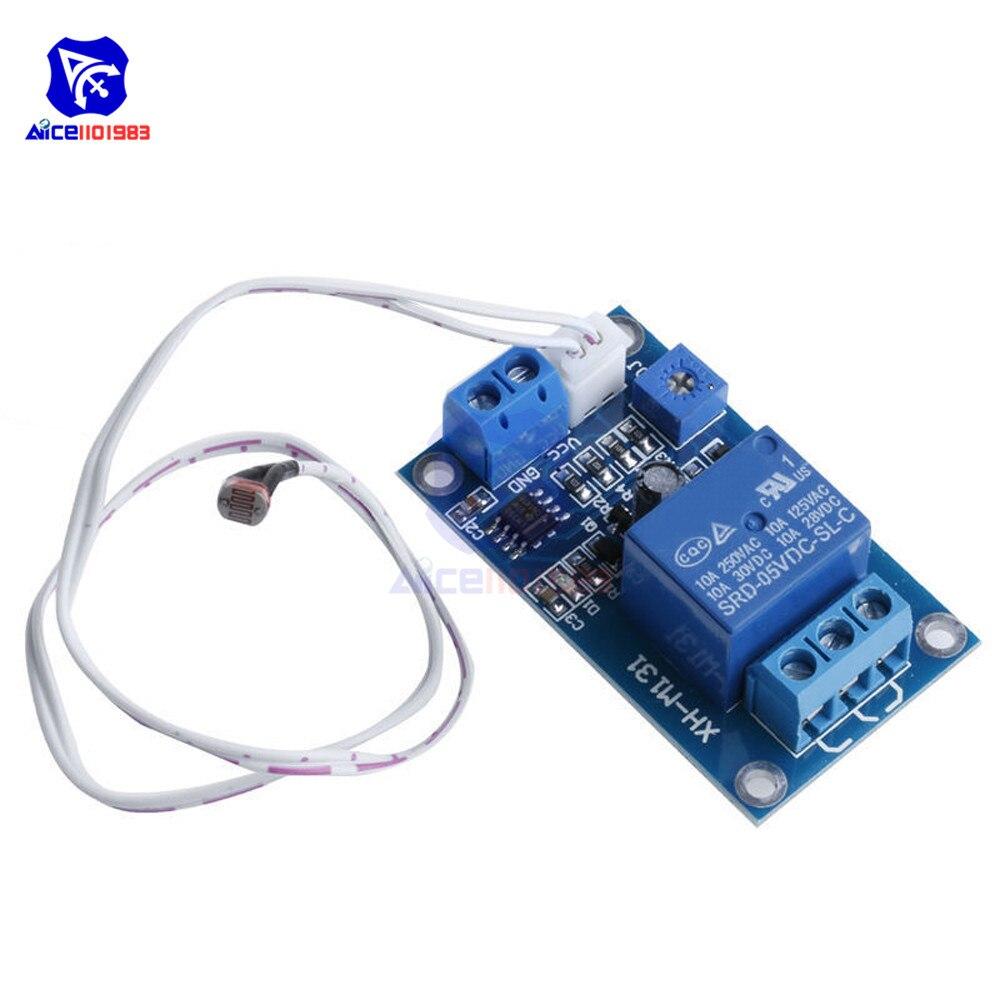Photosensitive Sensitivity Light Switch Sensor Module 5V Relay for Arduino  TW