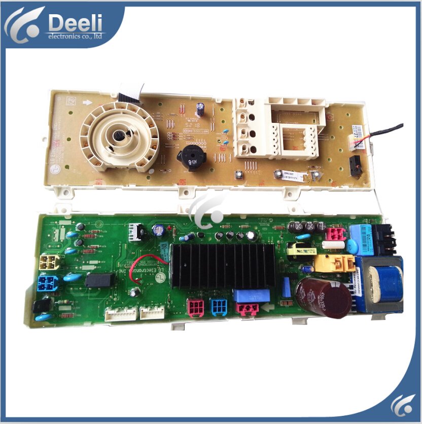 100% new for LG washing machine board control board WD-N10310D 6870EC9284D 6870EC9286B-1 Computer board original new for lg drum washing machine door hinge 42741701 1pcs