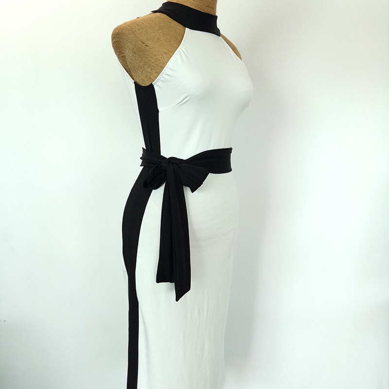 2018 Current Latin Dance Dress for Ladies White Competitive Fashion Women Ballroom Rumba Samba Tango Feminine Clothing N1063