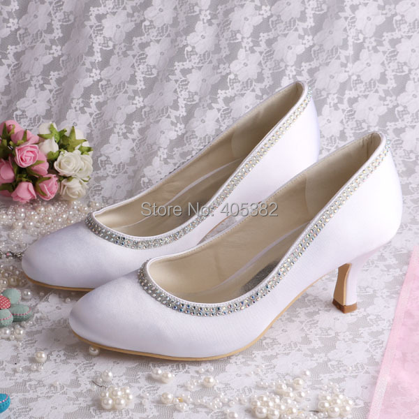 (20 Colors) Heel Female Wedding Shoes for Women Free Shipping Party Pumps Shoes