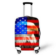 ธง eagle อุปกรณ์เสริมกระเป๋าเดินทางป้องกันครอบคลุม tiger