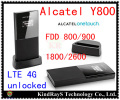 Unlocked Alcatel One Touch Y800 4G wifi router 3g 4g mifi router 3g 4g Wireless dongle 3g mifi pk y854 w800o l100 320u l800