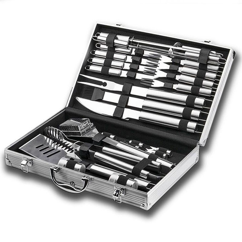 Stainless Steel Barbecue Tools Set For Barbecue Grilling
