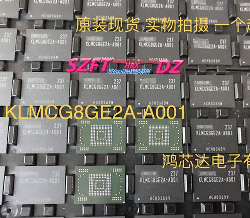 SZFTHRXDZ 100% new original KLMCG8GE2A-A001 EMMC 64G BGA aoweziic 100% new original klmag2ge4a a001 emmc font 16gb bga klmag2ge4a a001