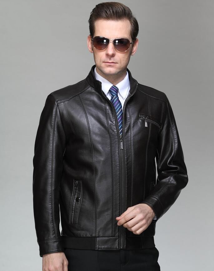 Mens Sheepskin Slim Leather Clothes 2020 New Spring And Autumn Brand Men's Genuine Leather Jacket Men Business Casual Jackets
