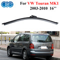 Oge 16'' Rear Wiper Blades For VW Touran 2003-2010 Windshield Windscreen Silicone Rubber Auto Car accessories