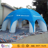 Free Shipping Hotcakes 8X8X4M Inflatable Lawn Wigwam Tent Customized Colors Nylon Oxford tent with blower for toy tent